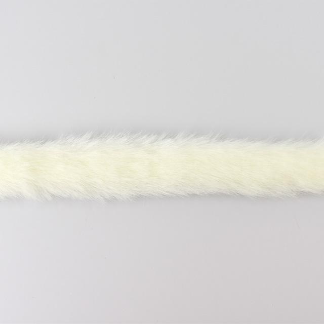 フェイクファーテープ 約15mm幅 2100 2 白 H 4a オカダヤ Okadaya 布 生地 毛糸 手芸用品の専門店
