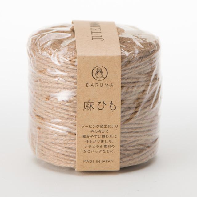 麻ひ も 編み物