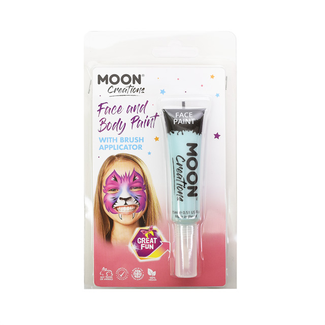 ボディペイント絵具 MOON FACE&BODY Paints (C01822) LightBlue (H)_3a_