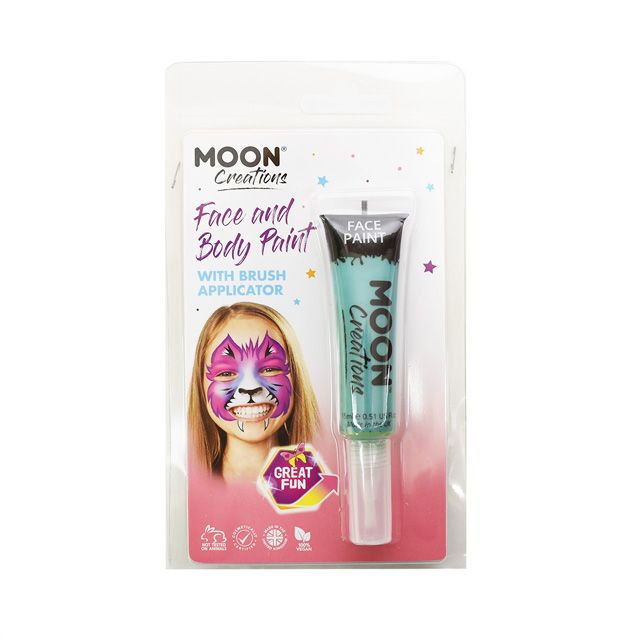 ボディペイント絵具 MOON FACE&BODY Paints (C01891) Turquoise (H)_3a_
