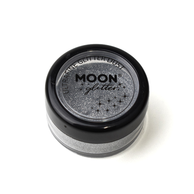 メイク用グリッター MOON Ultrafine Glitter Dust (G20502) Silver (H)_3a_