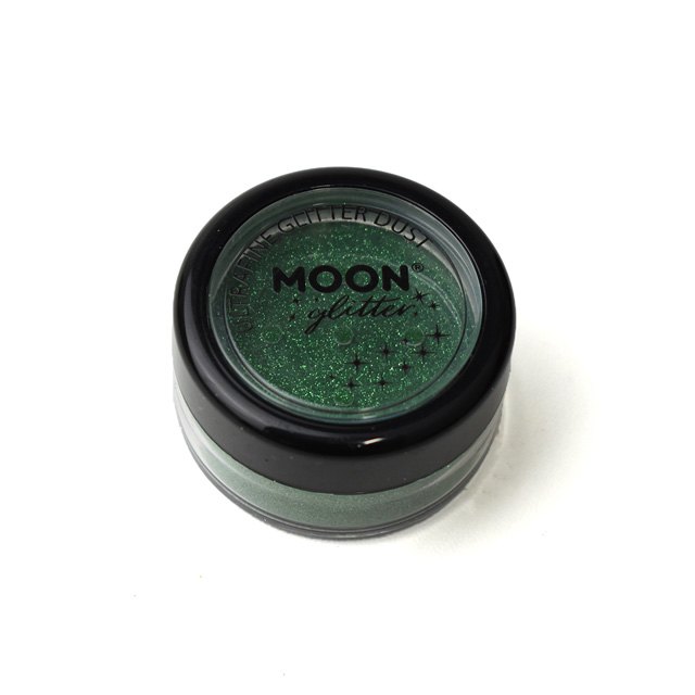 メイク用グリッター MOON Ultrafine Glitter Dust (G20557) Green (H)_3a_