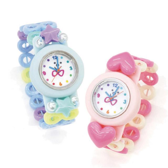トワコロンのパステル腕時計