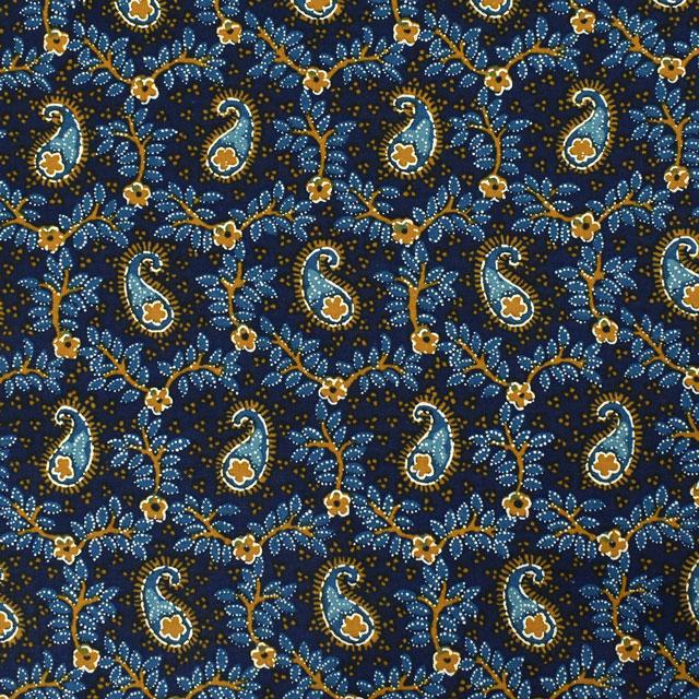 生地 SOULEIADO-ソレイアード- ヴィンテージフィール オリエント(SLFCV) 83C.ブルーアゲード (M)_1f_